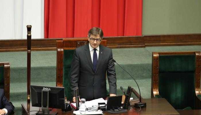 Marek Kuchciński marszałkiem Sejmu VIII kadencji fot. Rafał Zambrzycki