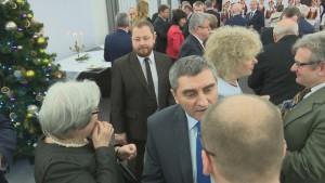 Spotkanie opłatkowe w Senacie  fot. ŚWIECZAK