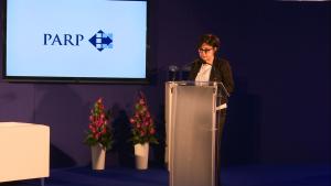 Bożena Lublińska-Kasprzak Prezes PARP III edycja konkursu Pracodawca Jutra 2015 fot. ŚWIECZAK