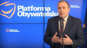 Grzegorz Schetyna Siemoniak rezygnuje z kandydowania na szefa PO, poparcie przekazuje Schetynie fot. ŚWIECZAK