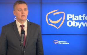 Tomasz Siemoniak Siemoniak rezygnuje z kandydowania na szefa PO, poparcie przekazuje Schetynie fot. ŚWIECZAK