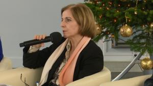 Zuzanna Grabusińska, dyrektor Departamentu Polityki Senioralnej, Ministerstwo Rodziny, Pracy i Polityki Społecznej IV Ogólnopolska Konferencja Uniwersytetów Trzeciego Wieku fot. ŚWIECZAK