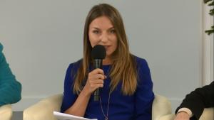 Marzena Rudnicka, prezes Krajowego Instytutu Gospodarki Senioralnej IV Ogólnopolska Konferencja Uniwersytetów Trzeciego Wieku fot. ŚWIECZAK