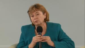 """dr Elżbieta Szwałkiewicz, przewodnicząca Koalicji """"Na pomoc niesamodzielnym"""""""