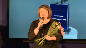 Anna Więcławska III edycja konkursu Pracodawca Jutra 2015 fot. ŚWIECZAK