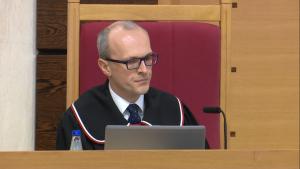 Marek Zubik Sędzia Trybunału Konstytucyjnego Trybunał Konstytucyjny wydał wyrok, dotyczący wyboru sędziów Trybunału Konstytucyjnego fot. ŚWIECZAK
