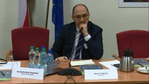 Marcin Podlecki, Dyrektor Departamentu Rozwoju Inwestycyjnego w Mota-Engil Praktyczne aspekty partnerstwa publiczno-prywatnego (PPP) fot. ŚWIECZAK