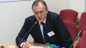 Przemysław Szulfer, Z-ca Dyr. Administracyjno-Finansowego w Warbud Praktyczne aspekty partnerstwa publiczno-prywatnego (PPP) fot. ŚWIECZAK