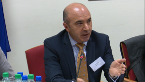 Paul da Rita, International Finance Corporation, Bank Światowy Praktyczne aspekty partnerstwa publiczno-prywatnego (PPP) fot. ŚWIECZAK