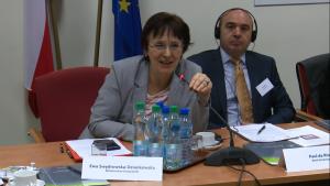 Ewa Swędrowska-Dziankowska, Z-ca Dyrektora Departamentu Instrumentów Wsparcia w Ministerstwie Gospodarki Praktyczne aspekty partnerstwa publiczno-prywatnego (PPP) fot. ŚWIECZAK