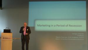 George J. Avlonitis 6-te Europejskie Forum Marketingu Instytucji Naukowych i Badawczych fot. ŚWIECZAK