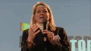 Prof. Dr. Petra Morschheuser, 6-te Europejskie Forum Marketingu Instytucji Naukowych i Badawczych fot. ŚWIECZAK