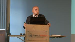 Dariusz Tworzydło 6-te Europejskie Forum Marketingu Instytucji Naukowych i Badawczych fot. ŚWIECZAK