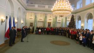 Spotkanie prezydenta ze sportowcami fot. ŚWIECZAK
