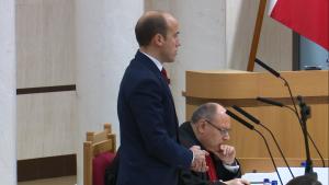 Borys Budka Trybunał Konstytucyjny ogłosił wyrok w sprawie nowelizacji ustawy o TK autorstwa PIS fot. ŚWIECZAK