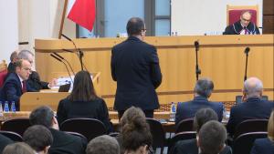 Adam Bodnar Rzecznik Praw Obywatelskich Trybunał Konstytucyjny ogłosił wyrok w sprawie nowelizacji ustawy o TK autorstwa PIS fot. ŚWIECZAK