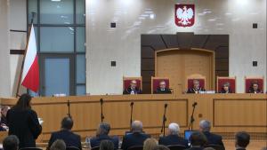 Trybunał Konstytucyjny ogłosił wyrok w sprawie nowelizacji ustawy o TK autorstwa PIS fot. ŚWIECZAK
