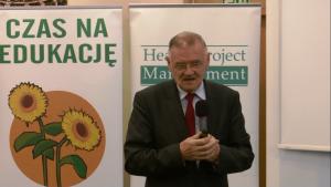 Prof. dr n. med.Jacek Sieradzki, Hipoglikemia 2015 fot. ŚWIECZAK