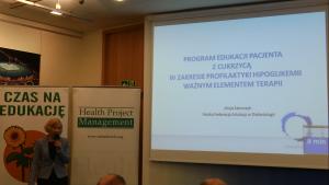 mgr Alicja Szewczyk Hipoglikemia 2015 fot. ŚWIECZAK