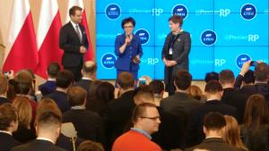 Noworoczny #TweetupKPRM Spotkanie Premier Beaty Szydło z dziennikarzami. fot. ŚWIECZAK