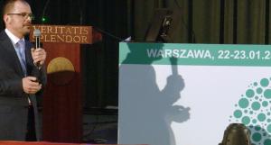 Prof. dr hab. med. Michał Zakliczyński XII Sympozjum Polskiego Towarzystwa Transplantacyjnego fot. ŚWIECZAK