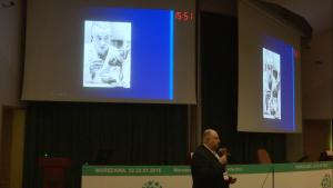 Prof. dr hab. med. Piotr Przybyłowski XII Sympozjum Polskiego Towarzystwa Transplantacyjnego fot. ŚWIECZAK