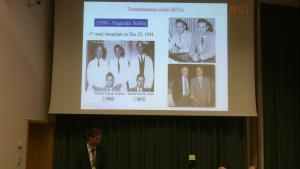 Dr hab. med. Wojciech Lisik XII Sympozjum Polskiego Towarzystwa Transplantacyjnego fot. ŚWIECZAK