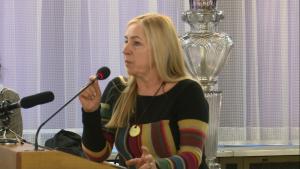 Wanda Jankowska Konferencja w sejmie pt. Konstytucja - Wymiar Sprawiedliwości i Obywatele fot. ŚWIECZAK