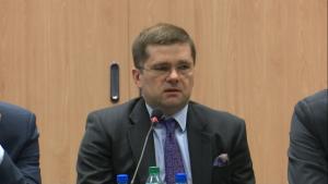 Paweł Chorąży, Podsekretarz Stanu w Ministerstwie RozwojuPosiedzenie Platformy ds. Funduszy Europejskich Pracodawców RP fot. ŚWIECZAK