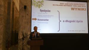 prof. dr hab. Mirosław Jarosz I Narodowy Kongres Żywieniowy fot. ŚWIECZAK
