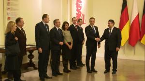 Sigmar Gabriel Wicekanclerz Republiki Federalnej Niemiec z wizytą u Prezydent RP Andrzeja Dudy fot. ŚWIECZAK