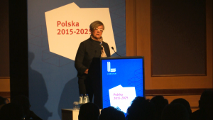 Henryka Bochniarz, Prezydent Konfederacji Lewiatan Polska 2015-2025. Jak zwiększyć inwestycje i ich efektywność? fot. ŚWIECZAK