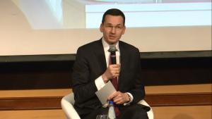 Mateusz Morawiecki Wicepremier, Minister Rozwoju Polska 2015-2025. Jak zwiększyć inwestycje i ich efektywność? fot. ŚWIECZAK