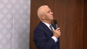 prof. Stanisław Duchniewicz V edycja workshopu Europy Centralnej i Wschodniej fot. ŚWIECZAK