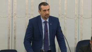 Senator Marek Pęk Senat przyjął ustawę o prokuraturze fot. ŚWIECZAK