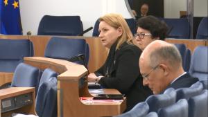 Senator Barbara Zdrojewska Senat przyjął ustawę o prokuraturze fot. ŚWIECZAK