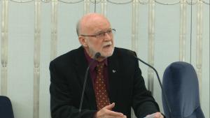 Senator Piotr Wach Senat przyjął ustawę o prokuraturze fot. ŚWIECZAK