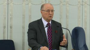 Senator Michał Seweryński Senat przyjął ustawę o prokuraturze fot. ŚWIECZAK