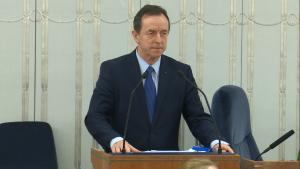 Senator Tomasz Grodzki Senat przyjął ustawę o prokuraturze fot. ŚWIECZAK