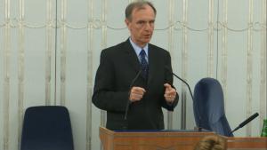 Senator Bogdan Klich Senat przyjął ustawę o prokuraturze fot. ŚWIECZAK