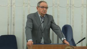 Senator Jerzy Fedorowicz, Senat przyjął ustawę o prokuraturze fot. ŚWIECZAK