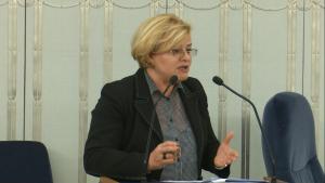 Senator Grażyna Sztark Senat przyjął ustawę o prokuraturze fot. ŚWIECZAK