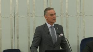 Senator Jan Maria Jackowski Senat przyjął ustawę o prokuraturze fot. ŚWIECZAK