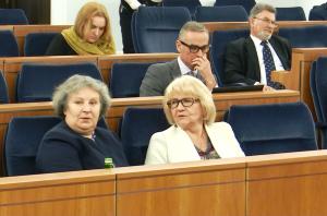 Margareta Budner Jan Maria Jackowski Zbigniew Cichoń Dorota Czudowska Janina Sagatowska Senat przyjął ustawę o prokuraturze fot. ŚWIECZAK