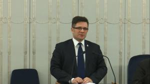 Senator Jacek Włosowicz Senat przyjął ustawę o prokuraturze fot. ŚWIECZAK