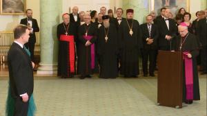 Spotkanie Noworoczne Pary Prezydenckiej z Korpusem Dyplomatycznym fot. ŚWIECZAK