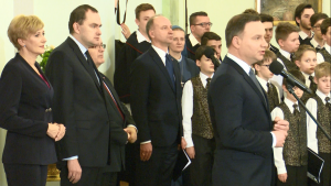 Spotkanie Pary Prezydenckiej z przedstawicielami najważniejszych religii i wyznań w Polsce fot. ŚWIECZAK