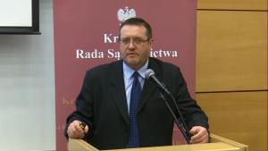 """Grzegorz Wiaderek Konferencja """"Granice niezawisłości sędziów i niezależności sądów?"""" fot. ŚWIECZAK"""
