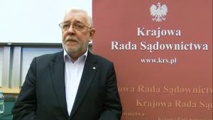 """Jerzy Stępień, Prezes Trybunału Konstytucyjnego Konferencja """"Granice niezawisłości sędziów i niezależności sądów?"""" fot. ŚWIECZAK"""