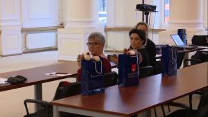 """Konferencja prokuratora Generalnego - """"Nowe środki ochrony i pomocy dla ofiar"""" fot. ŚWIECZAK"""